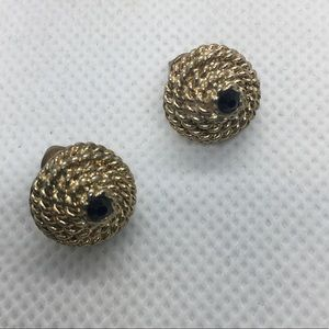 4 for $12: Gold Tone post earrings